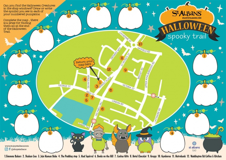 St Albans Halloween Trail