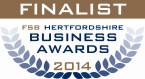 FSB Hertfordshire Business Awards 2014 Finalist