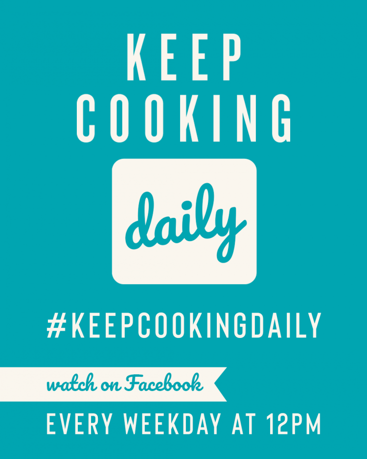 KEEP COOKING DAILY!!