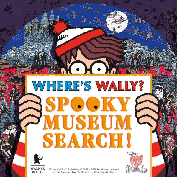 Where's Wally? Spooky Museum Hunt